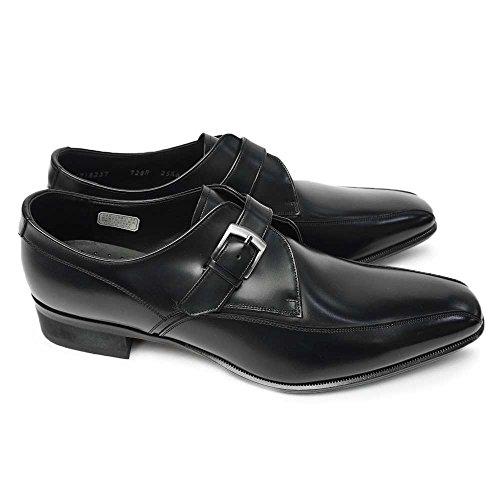 リーガル 靴 728R エレガントなメンズビジネスシューズ モンクストラップ 細めスタイル フォーマル ロング...