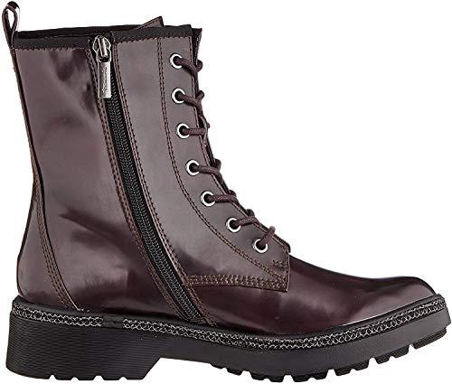 Tamaris Damen 1-1-25224-23 Biker Boots, Rot (Bordeaux Brush 547), 38 EU