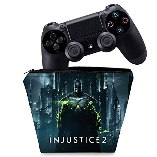 Capa PS4 Controle Case - Injustice 2