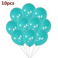 数字バルーン 漫画マーメイド箔風船30インチナンバーバルーン誕生日バルーン女の赤ちゃんのギフト漫画ヘリウムGlobosのための 装飾 (Color : A7)