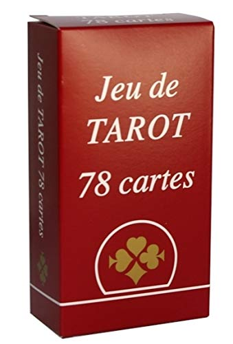 Ducale - Jeu de tarot gauloise - 78 cartes - Dos écossais