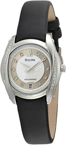 Bulova Bulova Precisionist Tanglewood Madre di Pearl Quadrante Brown Raso Ladies Orologio 96R140