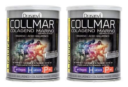 COLLMAR Colágeno hidrolizado con limón + magnesio + vitamina C 300G Drassanvi (pack 2 u.)