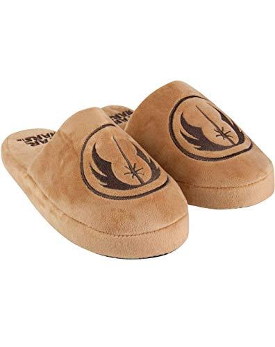 Star Wars Jedi Logo Brown doux Mule homme Slip-On Slippers
