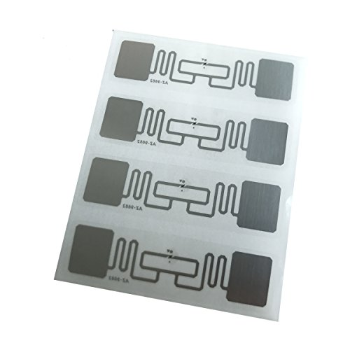 YARONGTECH UHF RFID Tag Alien H3 9662 7,6 x 2,5 cm selbstklebend RFID Label 20 stück