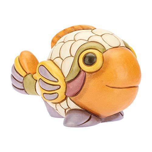 THUN® - Pesce Pappagallo Medio - Animali Soprammobile da Collezione - Ceramica - I Classici