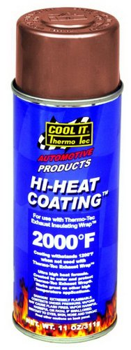Thermo-Tec 12003 Copper High Heat Wrap Coating
