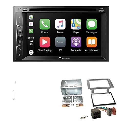Pioneer AVH-Z3200DAB 2-DIN Autoradio Bluetooth DAB CarPlay DVD, adatto per Lancia Musa 2004-2012, antracite