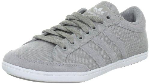adidas Originals PLIMCANA CLEAN LOW V22669, Herren Sneaker, Grau (ALUMINUM / ALUMINUM / WHITE), EU 42 2/3 (UK 8.5) (US 9)