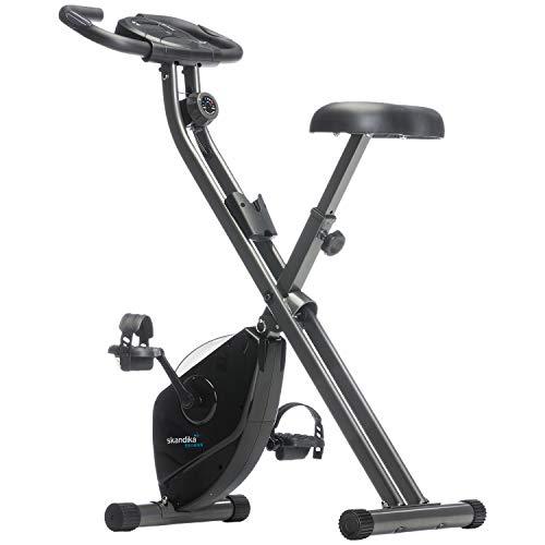 skandika Foldaway X-1000 Fitness Bike foldable,...