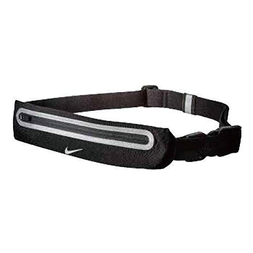 Cinturón Nike con cremallera, color negro o rosa, color Black/black, tamaño Talla...