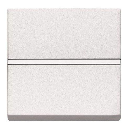 Pulsador ancho Niessen Zenit 16 A Blanco