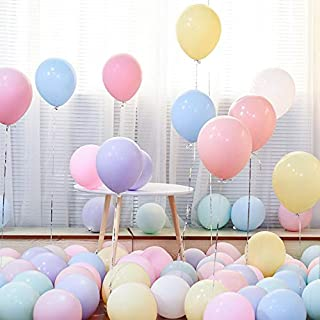 100PCS Macaron Balloons Assorted Color