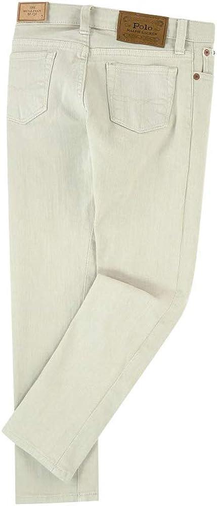 Ralph Lauren Polo Little Boys Sullivan Slim Stone Stretch Jeans 2 2T Gray