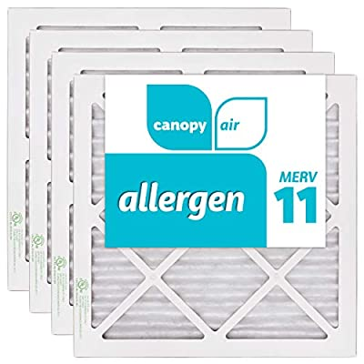Canopy Air MERV Pack Dust Protection Air Filter for a Healthy Home, Made in The USA