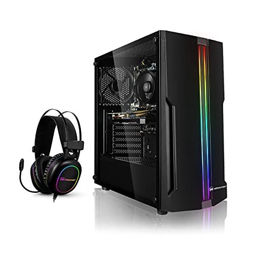 Megaport PC-Gaming AMD Ryzen 3 3100 • nvidia GeForce GTX1050Ti • 500GB SSD • 8GB RAM • Windows 10 • Gaming Headset • pc gaming assemblato • gaming desktop • computer gaming • computer fisso