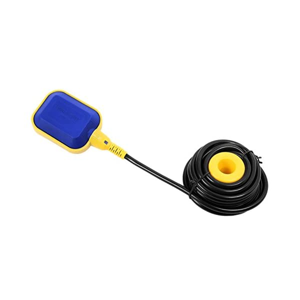 Boya Bomba,Interruptor Flotador Ajustable Automáticamente Interruptor de Nivel de Agua, Líquido Interruptor Flotador…