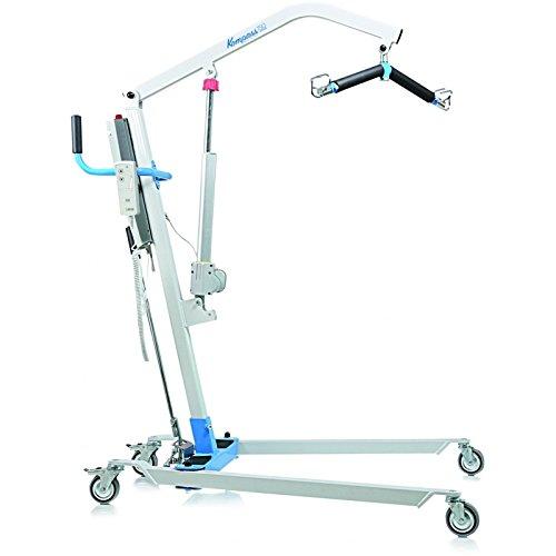 Grúa eléctrica para elevación y traslado de pacientes y mayores hasta 180 kg