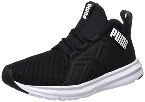 Puma Men's Puma Black-puma White Running Shoes - 7 UK