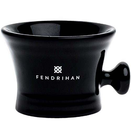 Essential Apothecary Shaving Mug by Fendrihan (Black)