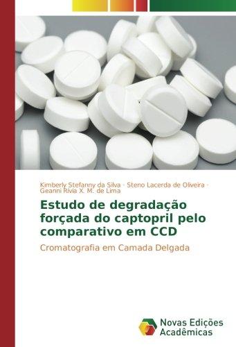 Estudo de degradação forçada do captopril pelo comparativo em CCD: Cromatografia em Camada Delgada