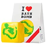 Bombas De Baño Hechas A Mano, Bomba De Baño De Burbujas con Aceite Esencial Natural Y Leche Infundidos, Sal De Baño De 7 Oz / 200 G para Damas Y Mujeres,4
