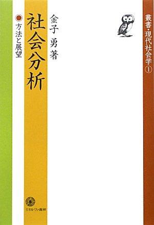 社会分析―方法と展望 (叢書・現代社会学)