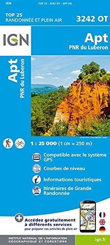 APT Parc Naturel Regional Luberon 1 : 25 000 (TOP 25)