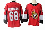 Gmjay Mike Hoffman # 68 Eishockeytrikot Ottawa Senators Hockey Red Stitched Letters Numbers NHL Eishockeytrikot -