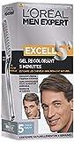 L'Oréal Paris Men Expert Excell 5 teinture-coloration homme cheveux blanc ou gris 5 minutes châtain naturel
