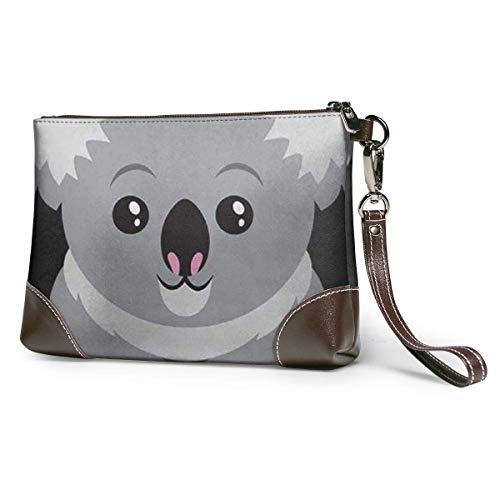 Geldbörsen Clutch Handy Geldbörsen Australien Koala Bär Leder Kleine Handtasche