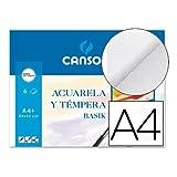 Minipack A4+ (24x32 cm) 6 Hojas, Guarro Acuarela Basik 370g