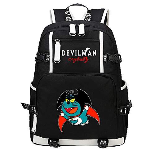 DEVILAMN Crybaby Freizeitrucksack Rucksack Multifunktions Daypack Simple Style Schultasche Student Reisetasche (Color : A10, Size : 30 X 14 X 46cm)