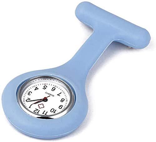 XHCP Einfache Taschenuhr für Damen Tischglasuhren Einfarbige Armbanduhr mit digitalem Zifferblatt und Stiften Personalisiertes Abschlussgeschenk für Pflegepersonen