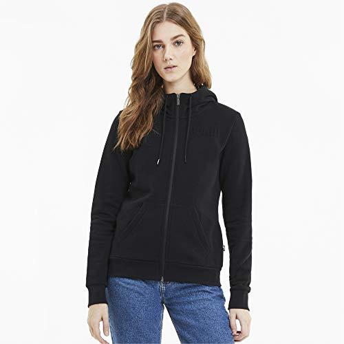 PUMA Damen Modern Basics Sweatjacke schwarz XL