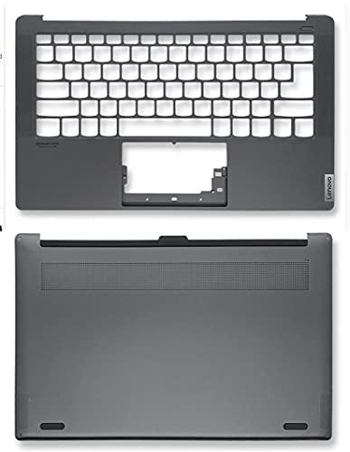 HuiHan Reemplazo para Lenovo YOGA S940-14IWL S940-14IIL portátil Palmrest cubierta superior Shell y carcasa inferior (C+D)