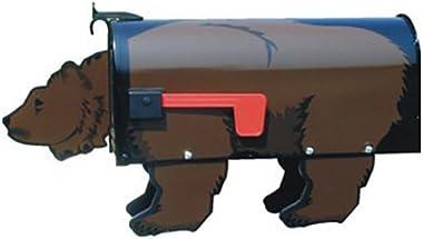 Brown Bear Post Mount Mailbox #7001