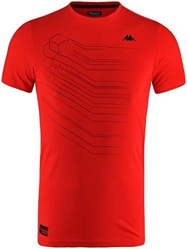 Kappa Soren Camiseta, Hombre, Rojo (Scarlet), L: Amazon.es ...