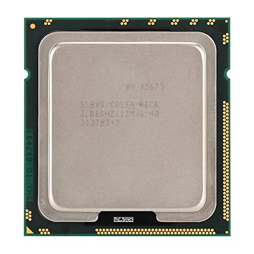 Diyeeni Xeon X5675 Prozessor (Socket: LGA 1366, 6 Kerne, 288GB ECC, 12MB L3 Cache), CPU für X58, X79 Series Mainboard