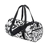 YCHY Gym Bag,Sporttasche Vector Repeating Ivy Pattern Swatch enthalten,New Canvas Print Eimer...