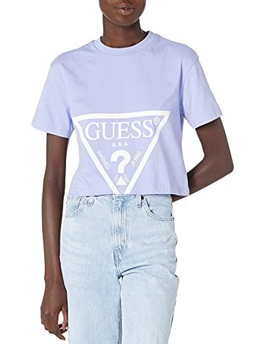 Guess Camiseta de mujer O1GA21-K8HM0 Primavera/Verano, Soft Purple, M