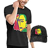 Photo de Baostic Homme T- T-Shirt Polos et Chemises, Man's XTC Drums & Wires Music Band T Shirt Cycling Tshirts Buy Tshirt Get Hat Free Collocation Gift