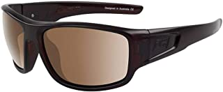 Dirty Dog Mens Muffler Sunglasses - Brown/Brown