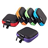 Best Earbud Cases - Coolsell [5-Pack] Square Carrying Cases for Cellphone Earphone Review