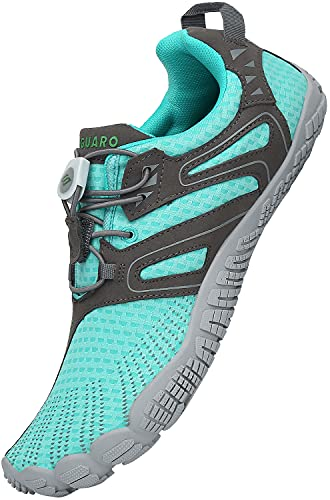 SAGUARO Hombre Barefoot Zapatillas Respirable Zapatillas de Trail Running Mujer Secado rápido Zapatos de Agua Zapatillas Minimalistas Exterior, Azul 36