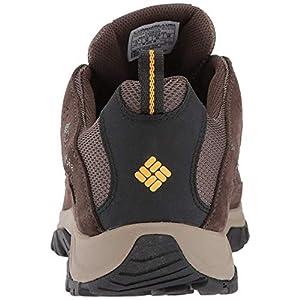 Columbia Men's Crestwood Waterproof Hiking Boot, Mud, Squash, 13 Regular US