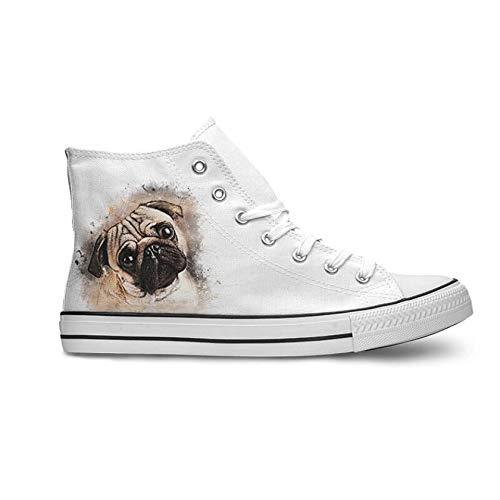 INKICKS Hunde Schuhe personalisierbar mit deinem Bild in Gr.37