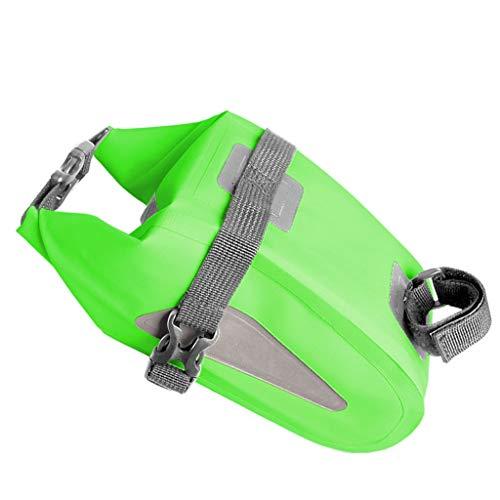 Bolsas Bicicleta Cuadro La bolsa bolso al aire libre Bolsa de sillín completa cola de la bicicleta a prueba de agua de gran capacidad de asientos traseros Bolsa de bicicletas de montaña de una silla d