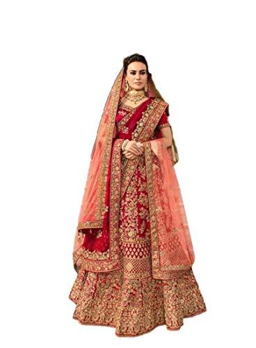 RAJ SHREE FASHION Ethnische Lehenga Choli indische Frauen Designer Partywear Ethnische traditionelle Lehenga Choli Hochzeitskleidung Lehenga 675