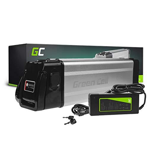 Green Cell GC Bateria Bicicleta Electrica 48V 12Ah Silverfish Li-Ion E-Bike Batería y Cargador